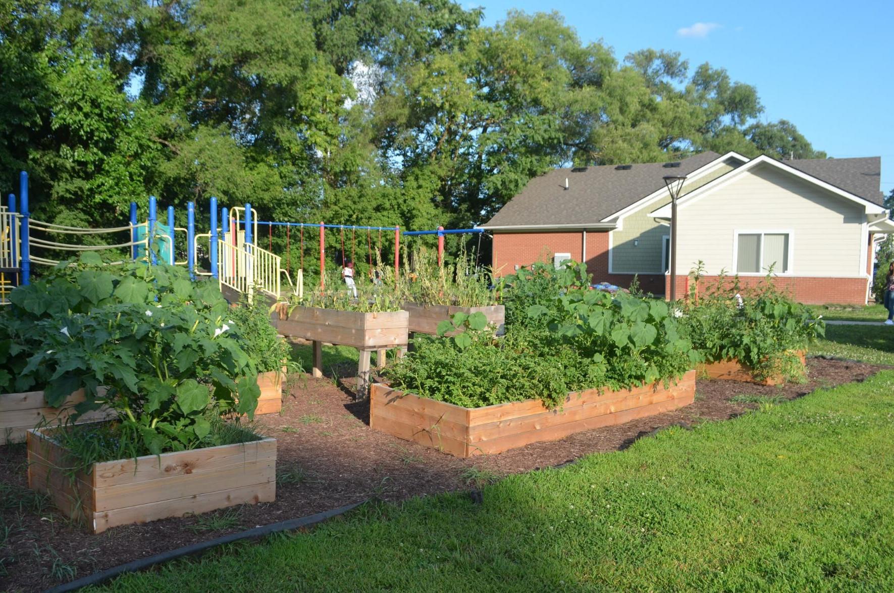 New Community Garden at Sauk Trail Pointe